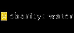charity water logo