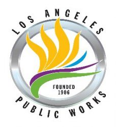 LOS ANGELES PUBLIC WORKS LOGO